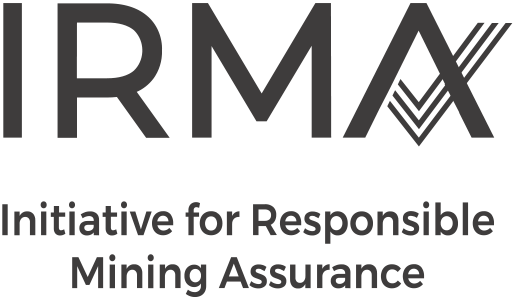Client logo for Initiative for Responsible Mining Assurance refresh