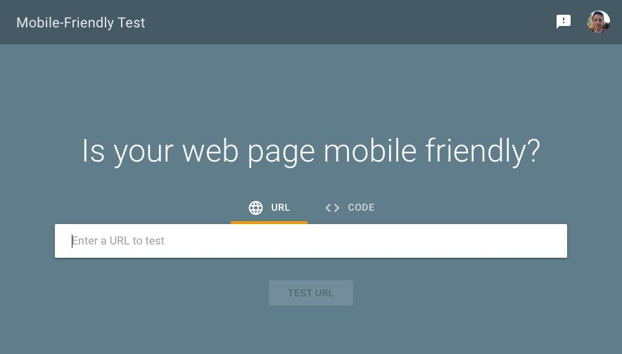 Google tool to test if a site is mobile-friendly